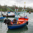 Stock Photo: Fisherman boat