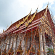 Temple is under construction — Stock Photo