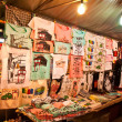 T-shirt shop at hua hin nightmarket at Prajuabkirikun province,Thailand — Stock Photo