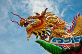 Dragon status — Stock Photo