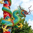 Stock Photo: Dragon Pole