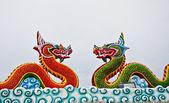 The Dragon status — Stock Photo
