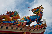 The Dragon status — Stock Photo