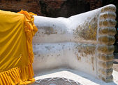 The Reclining buddha — Stock Photo