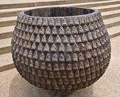 The monk's alms-bowl — Stock Photo