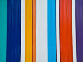La couleur de la clôture de zinc — Photo
