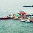Stock Photo: Pier of srichang island,Chonburi province,Thailand