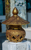 Old lamp thai style — Stock Photo