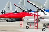 BANGKOK THAILAND - MARCH 23 : The Acrobatic Britling Jet Team pe — Stock Photo
