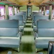 Stockfoto: Chair on bogie in train