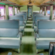 Foto de Stock  : Chair on bogie in train