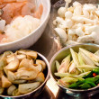 Ingredients of tom yum goong — Stock Photo