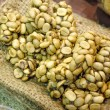Coffee beans - Civet coffee - Kopi Luwak — Stock Photo