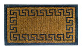 Doormat of chinese style isolated on white background — Stock Photo