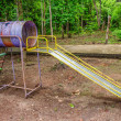 Stock Photo: Old playground slide
