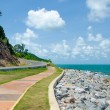 Road along sea — Stock Photo #27013877