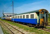 Third class passenger bogie of the train — Stock Photo