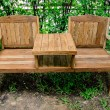 Old wooden bench — Stock Photo #29482261
