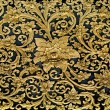 Old carving wood ornament of flower pattern thai style — Stock Photo