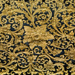 Old carving wood ornament of flower pattern thai style — Stock Photo #29873299