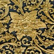 Old carving wood ornament of flower pattern thai style — Stock Photo #29873347