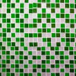 Colorful ceramic tiles wall decoration — Stock Photo