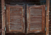 Old western swinging Saloon doors — Stock Photo
