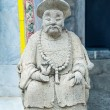 Carving stone of doll chinese style — 图库照片
