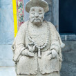 Carving stone of doll chinese style — ストック写真