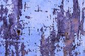 Rostige lackiertem Metall Oberfläche Hintergrund — Stockfoto