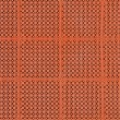 Weaved plastic texture — Stock Photo