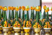 Vacker blomma i thailändsk stil — Stockfoto