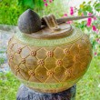 Stock Photo: Old earthenware thai style