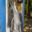 Old gas pump — Stock Photo