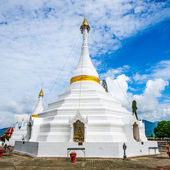 Wat Phatat Doi GongMu in Mae Hong Son Province ,Thailand has a f — Foto Stock
