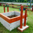 Vintage brick well — Stock Photo