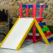 Стоковое фото: Children's playground in school