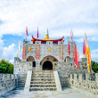 Ancient fort of chinese style — Stock Photo