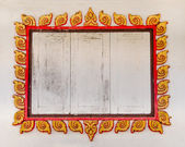 Stare okna stylu tajskim — Zdjęcie stockowe