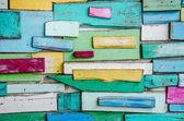 Vieja pieza fondo de pared de madera — Foto de Stock