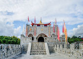 Ancient fort of chinese style — Stockfoto