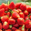 Stock Photo: Fresh strawberry in market