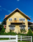 Vintage house of germany style in thailand — Stock Photo