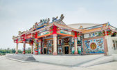 Colourful of joss house — Stockfoto