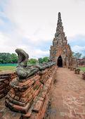 Ruins of Chaiwattanaram temple at Ayuttaya, Thailand  — Stock Photo