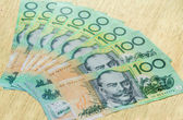 Colorful of Australian Currency  — Stock Photo