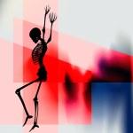 Halloween Dance — Stock Vector