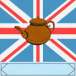 The Great British Tea Pot - Stock Vector
