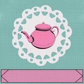 下午茶时间 — 图库矢量图片