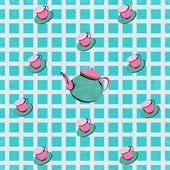 Teatime — Stockvektor
